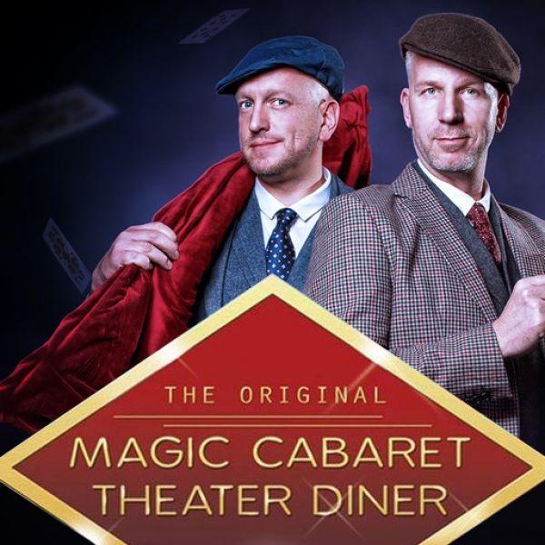 Magic cabaret theater diner show met Rob en Emiel
